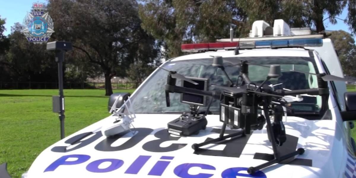 Western Australia police drones