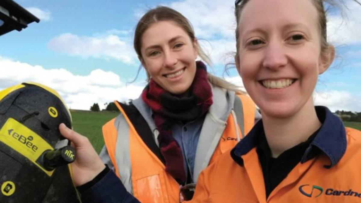 drones speed surveys Cardno