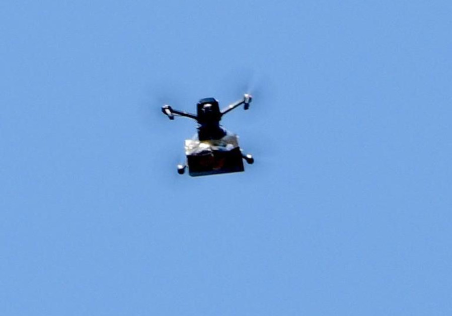 Green drone delivers pot in Israel