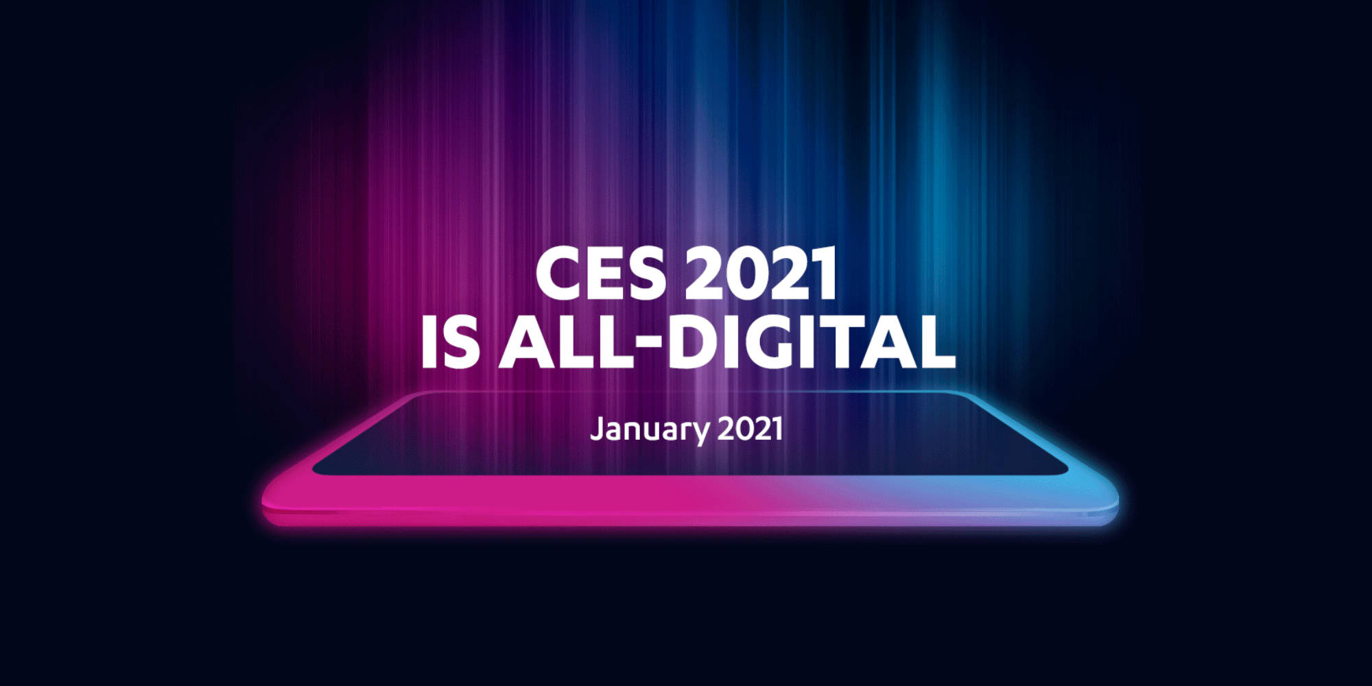CES 2021 shifts its digital event to new dates, January 11 ...