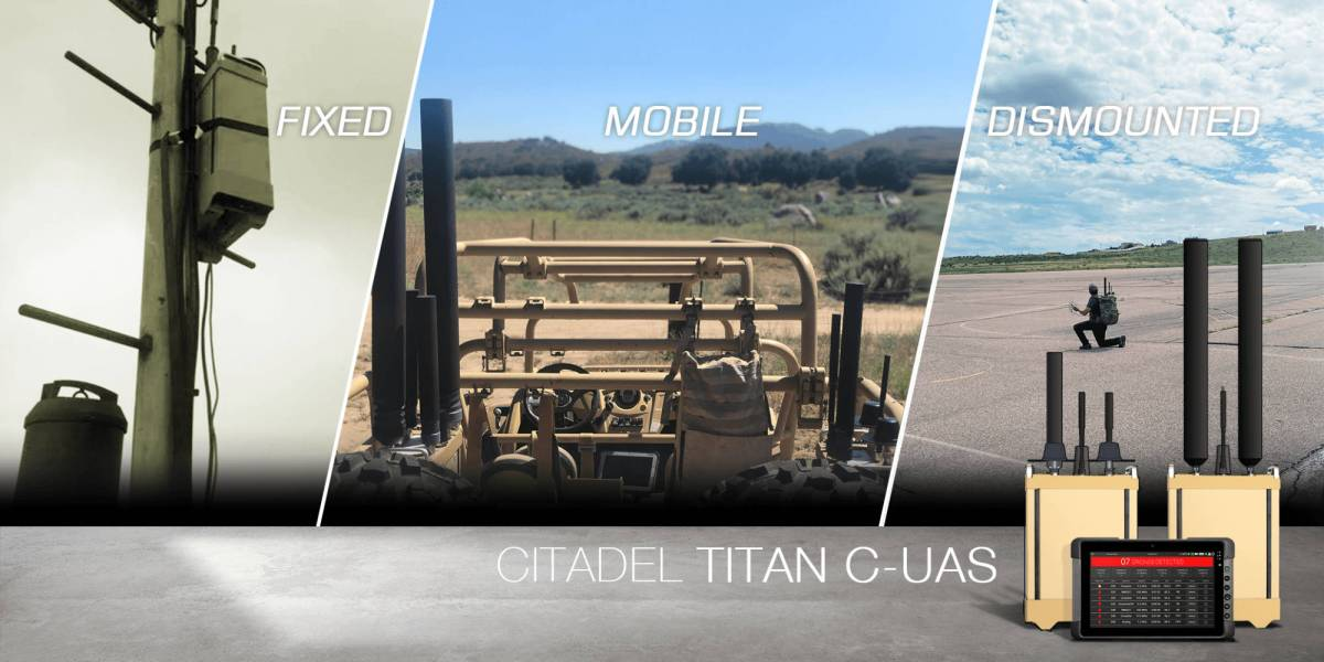 Citadel Defense anti-drone tech