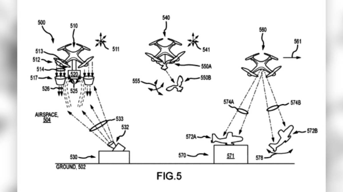 Disney patent drones performances