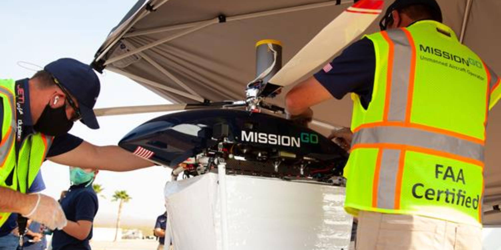 Drone solution provider MissionGO has completed the longest organ delivery by drone in Las Vegas last week with the Nevada Donor Network. The two test
