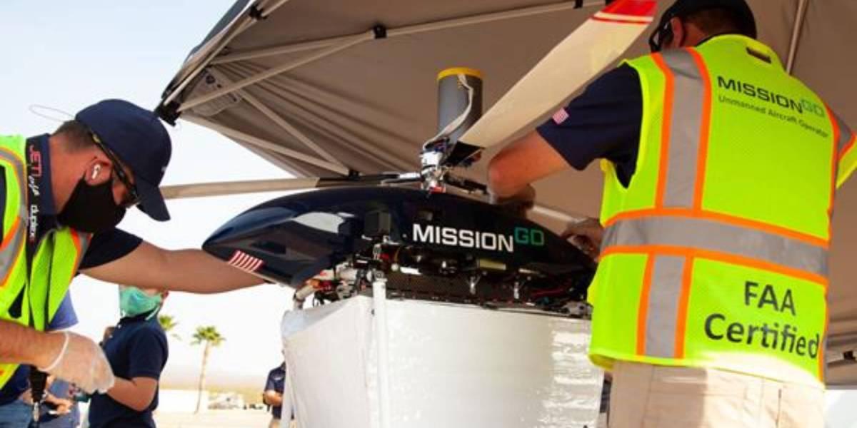 Drone organ delivery drone