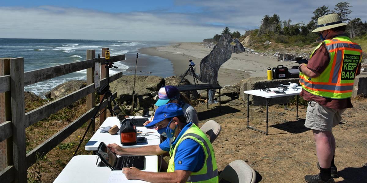 Drones biologists distressed seals