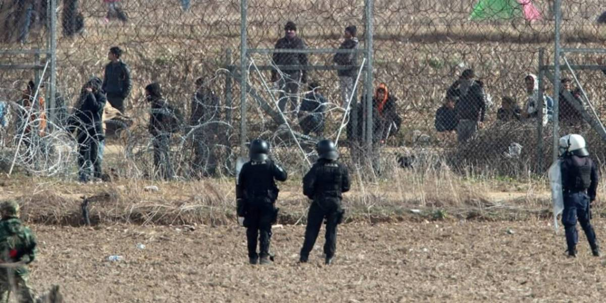 Drones, thermal cameras, and armored Jeeps have been deployed along the Greek-Turkish border in preparation for the second wave of illegal immigrants.