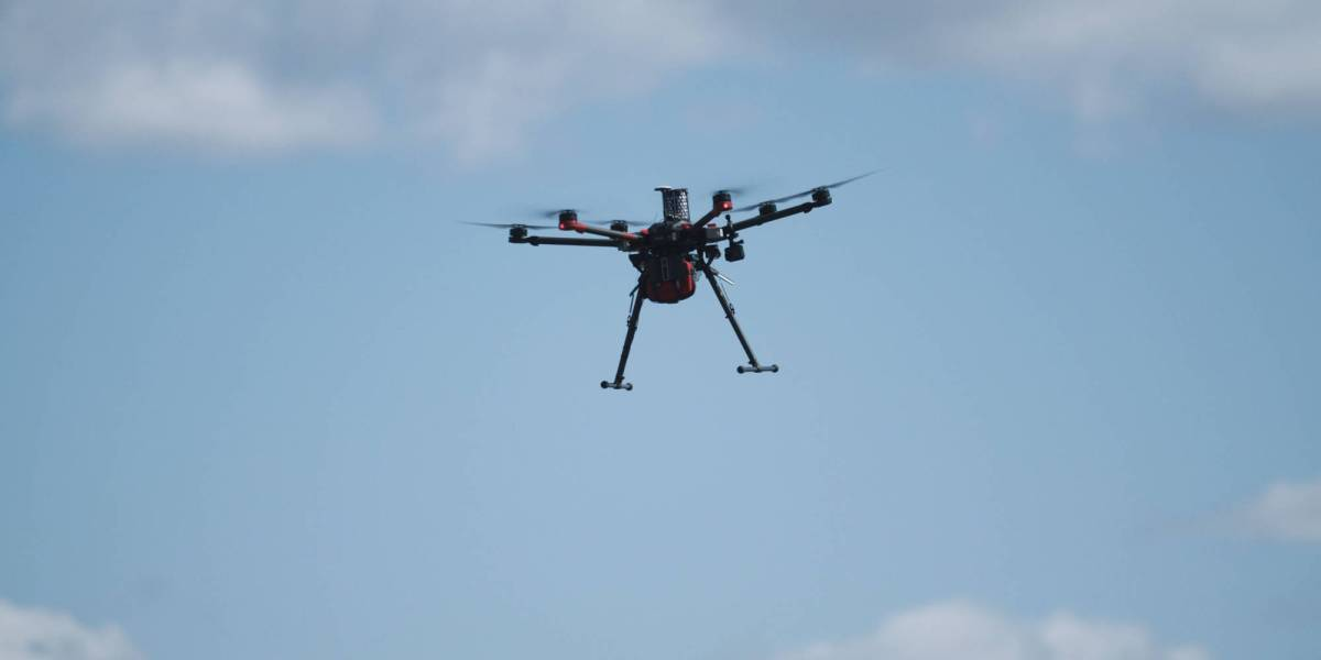 Everdrone drone deliveries Denmark