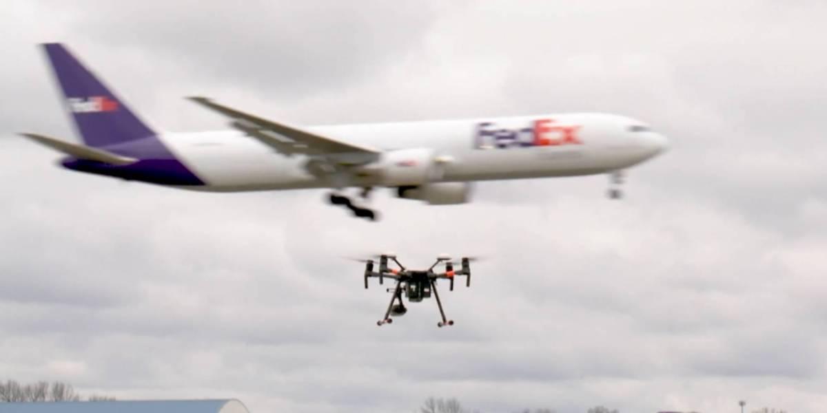 FedEx DOT drone Memphis