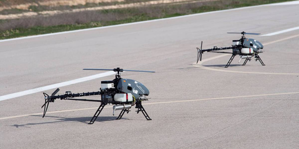 IAI MultiFlyer non-combat drones