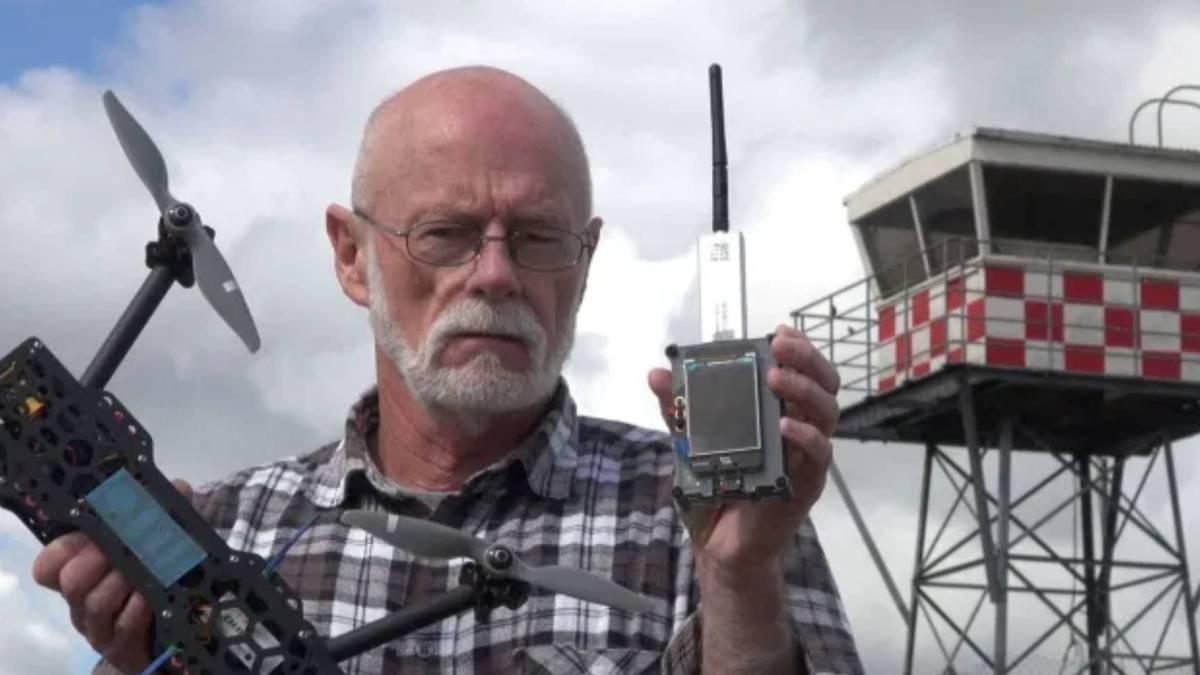 Kiwi ADS-B scanner drone