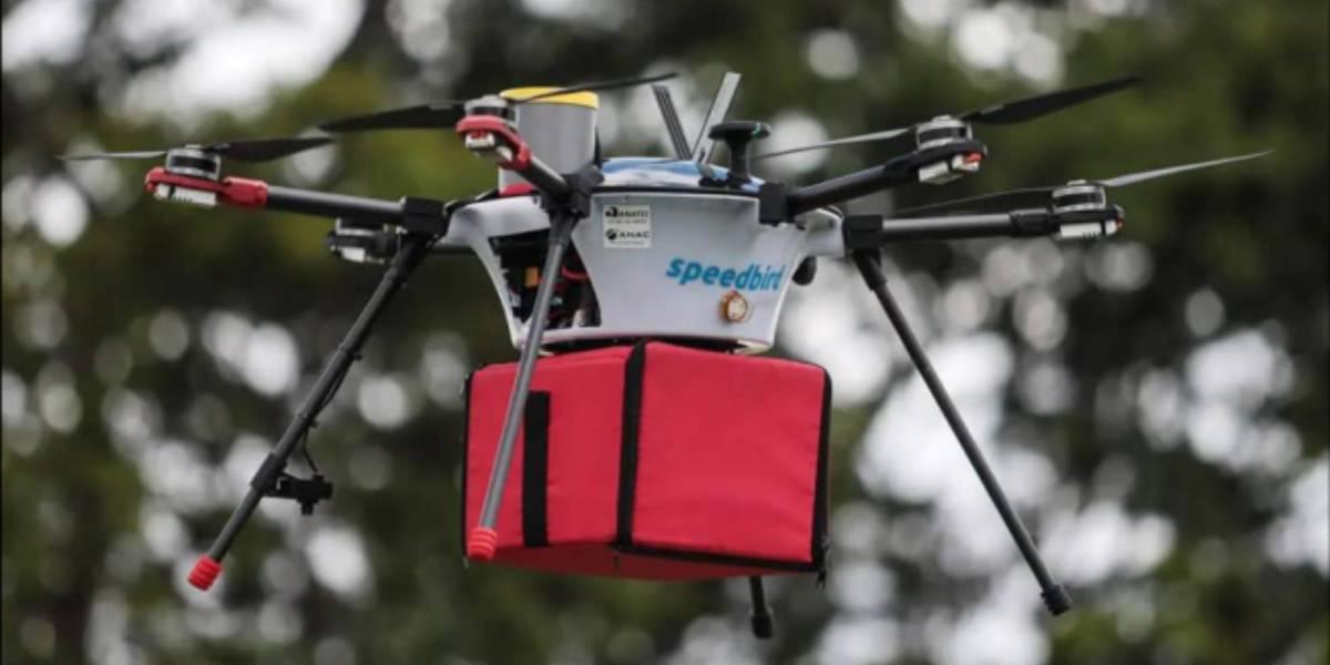 Speedbird drone delivery Brazil