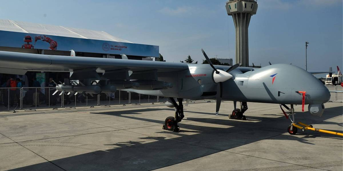 Turkey's Aksungur drone