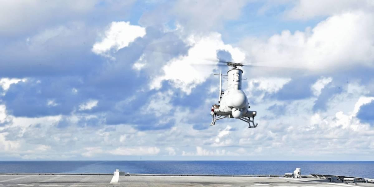 U.S. Navy's drone MQ-8C
