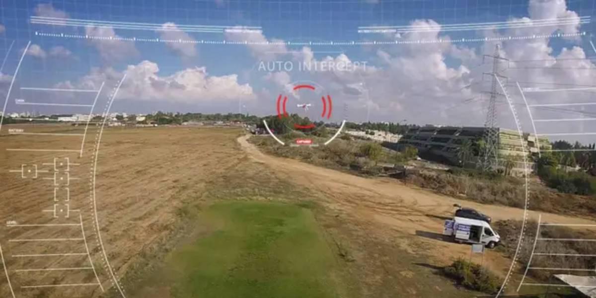 US Israeli-built drone interception