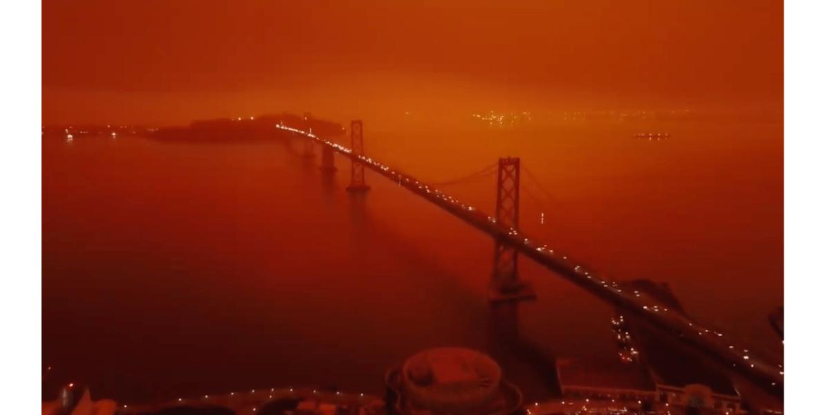 San Francisco Bladerunner fires