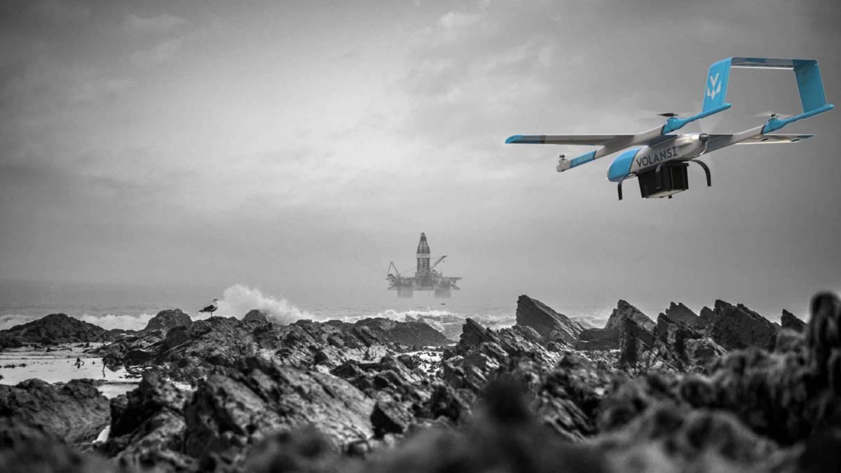 Volansi North Dakota's BVLOS Quickstep drones Australia