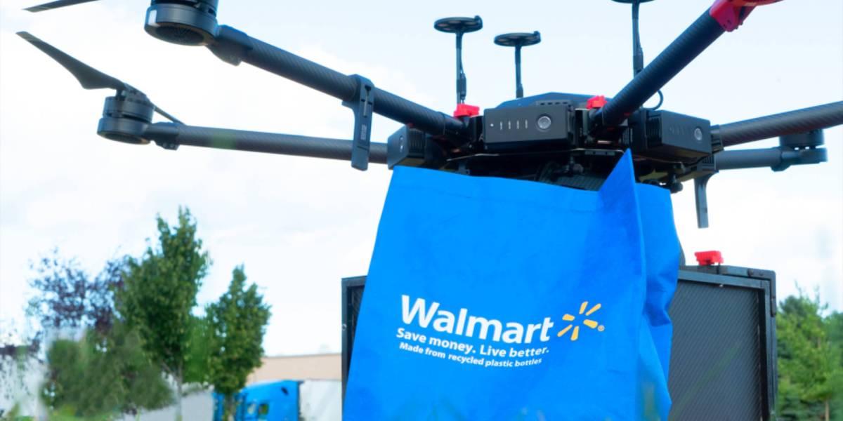 Walmart drone deliveries Carolina