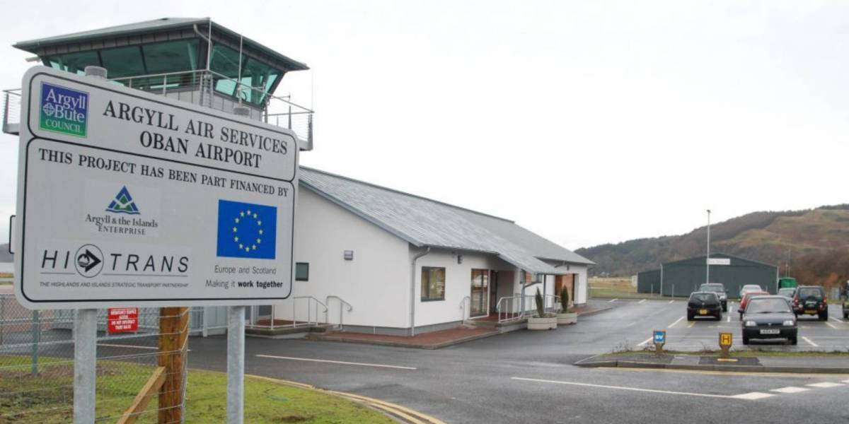 drone sightings Oban airport