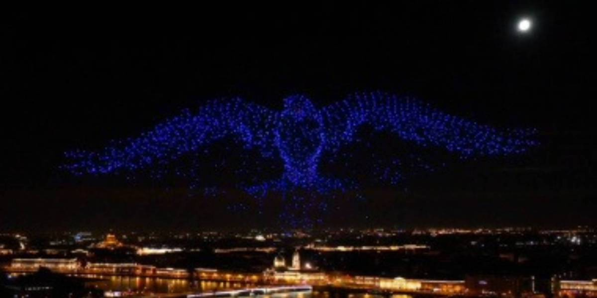 2198 record-breaking drone show