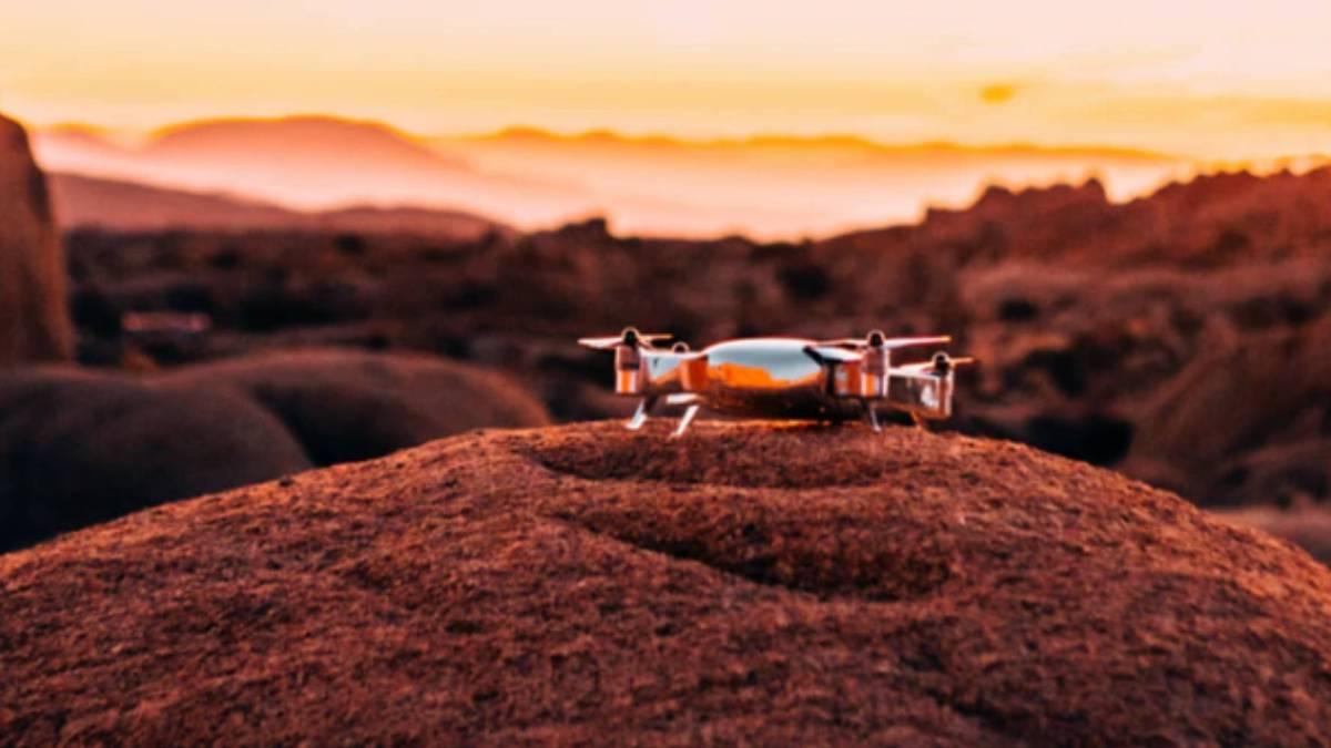 360-degree Kickstarter VISTA Drone