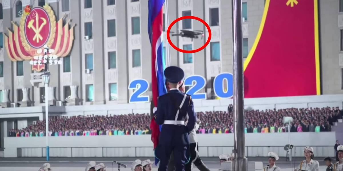 DJI Mavic North Korea