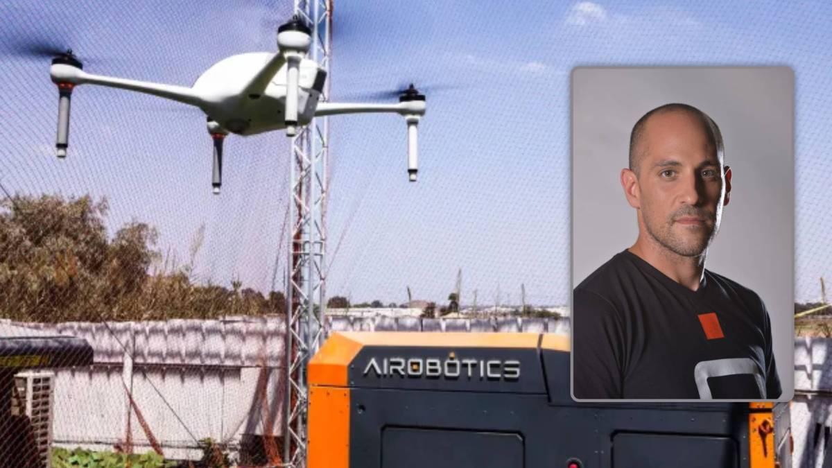 Drones natural disasters Airobotics