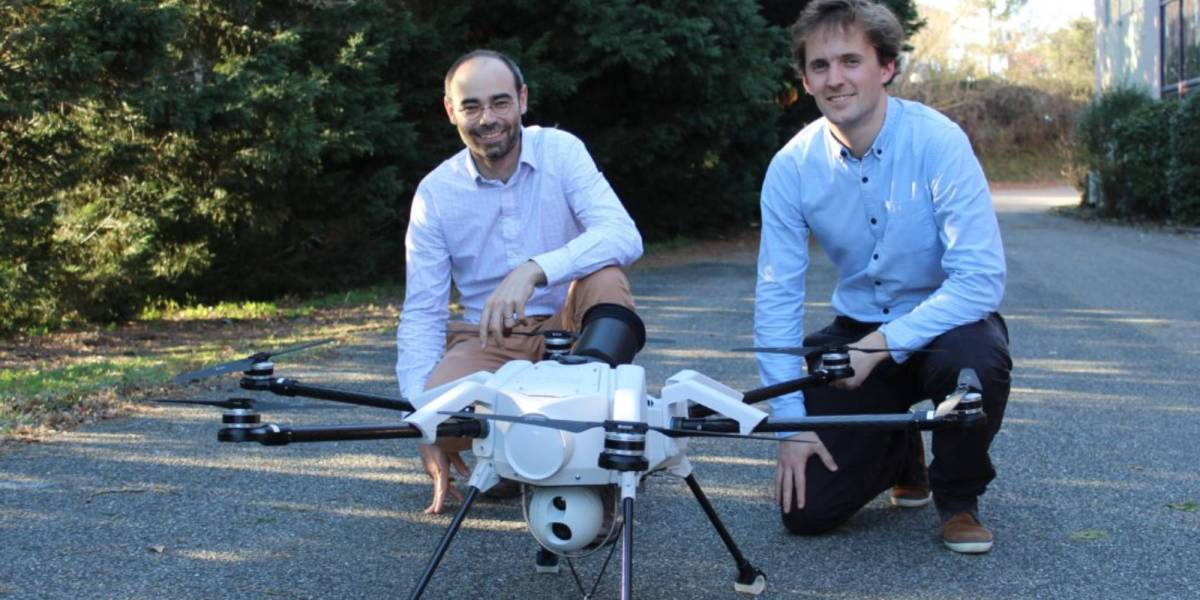 Elistair US tethered drone