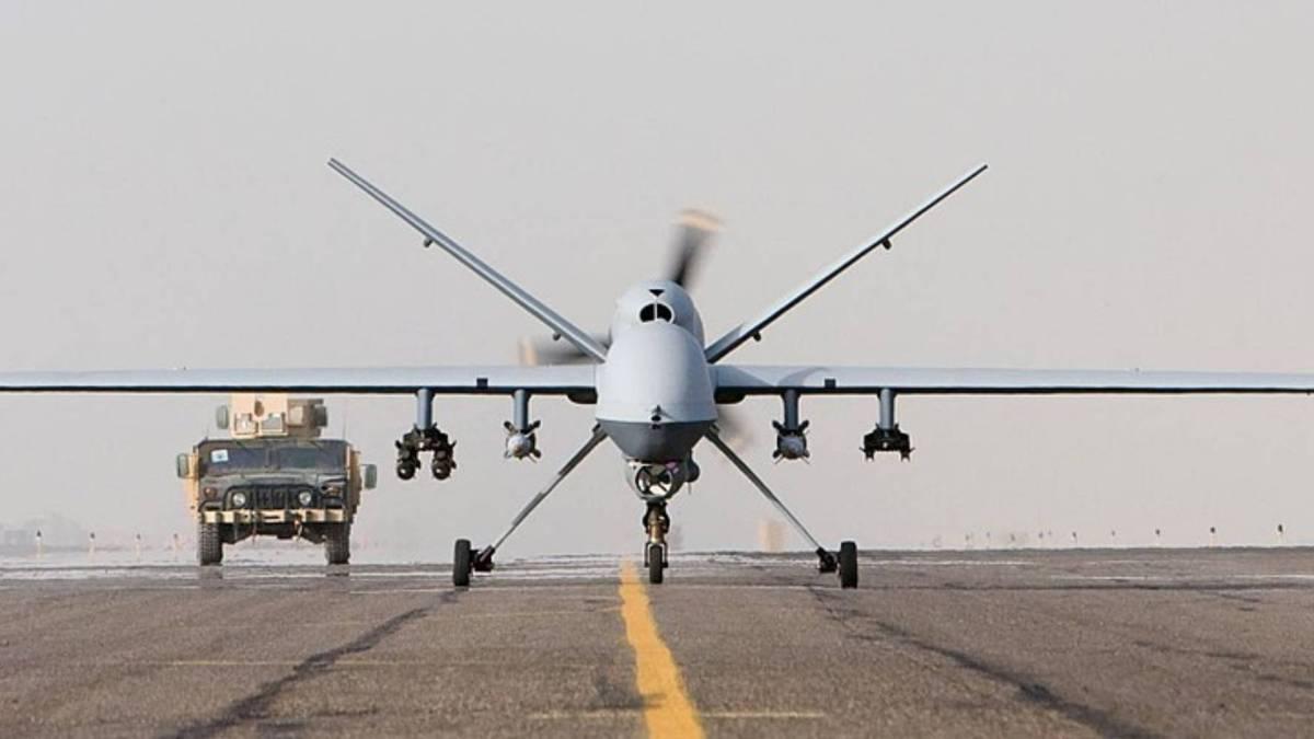 MQ-9 Reaper drone Hellfire U.S. washer