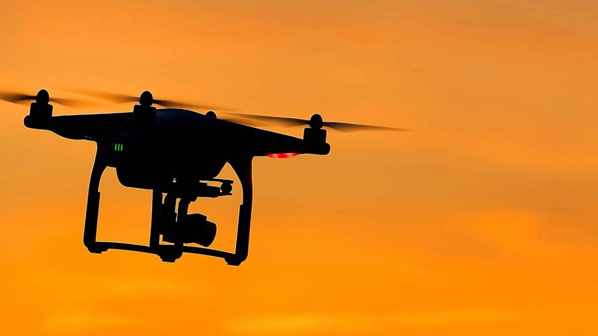 NSW Australia drones bushfires
