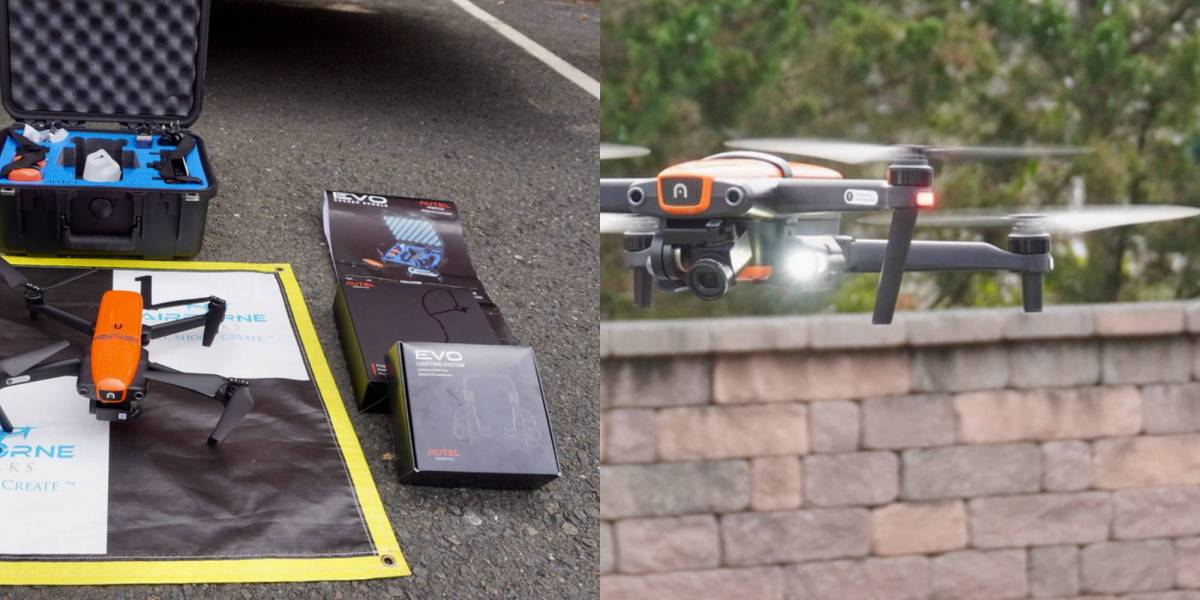 Norwich Fire Department drone