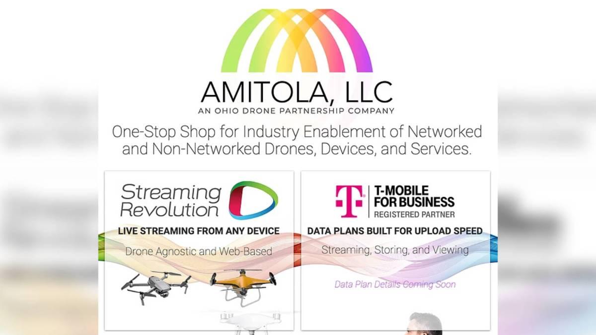 Ohio Drone T-Mobile drones
