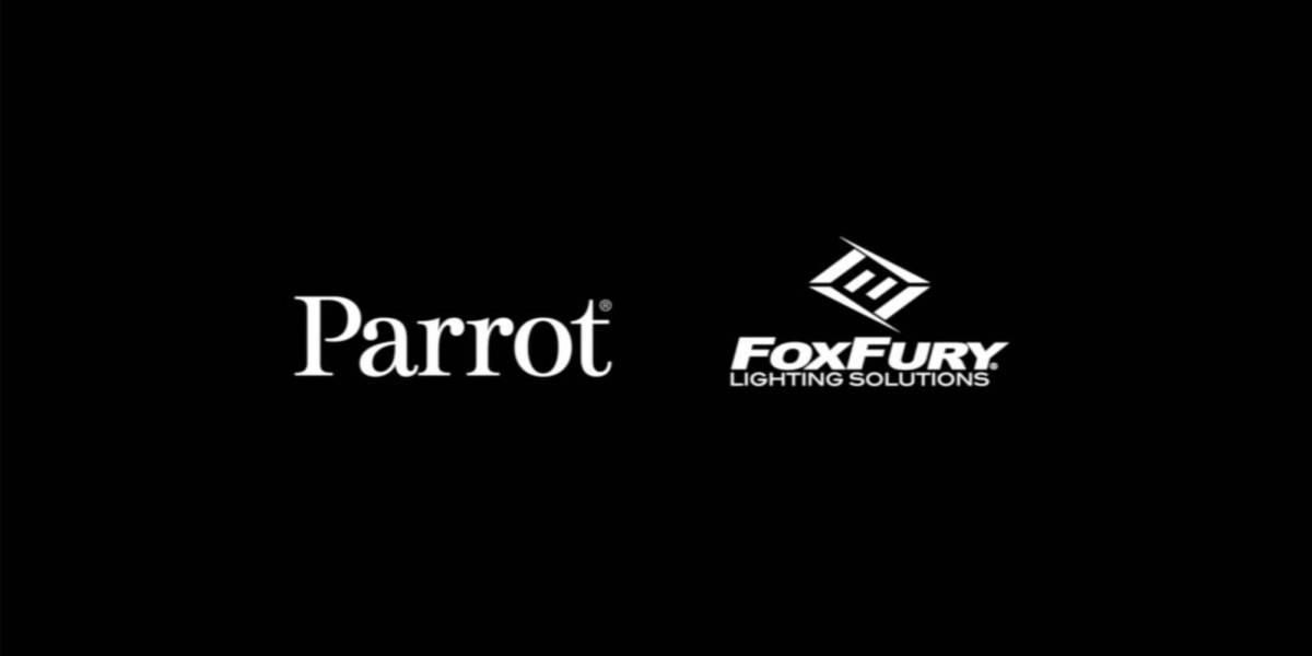 Parrot FoxFury drones lights