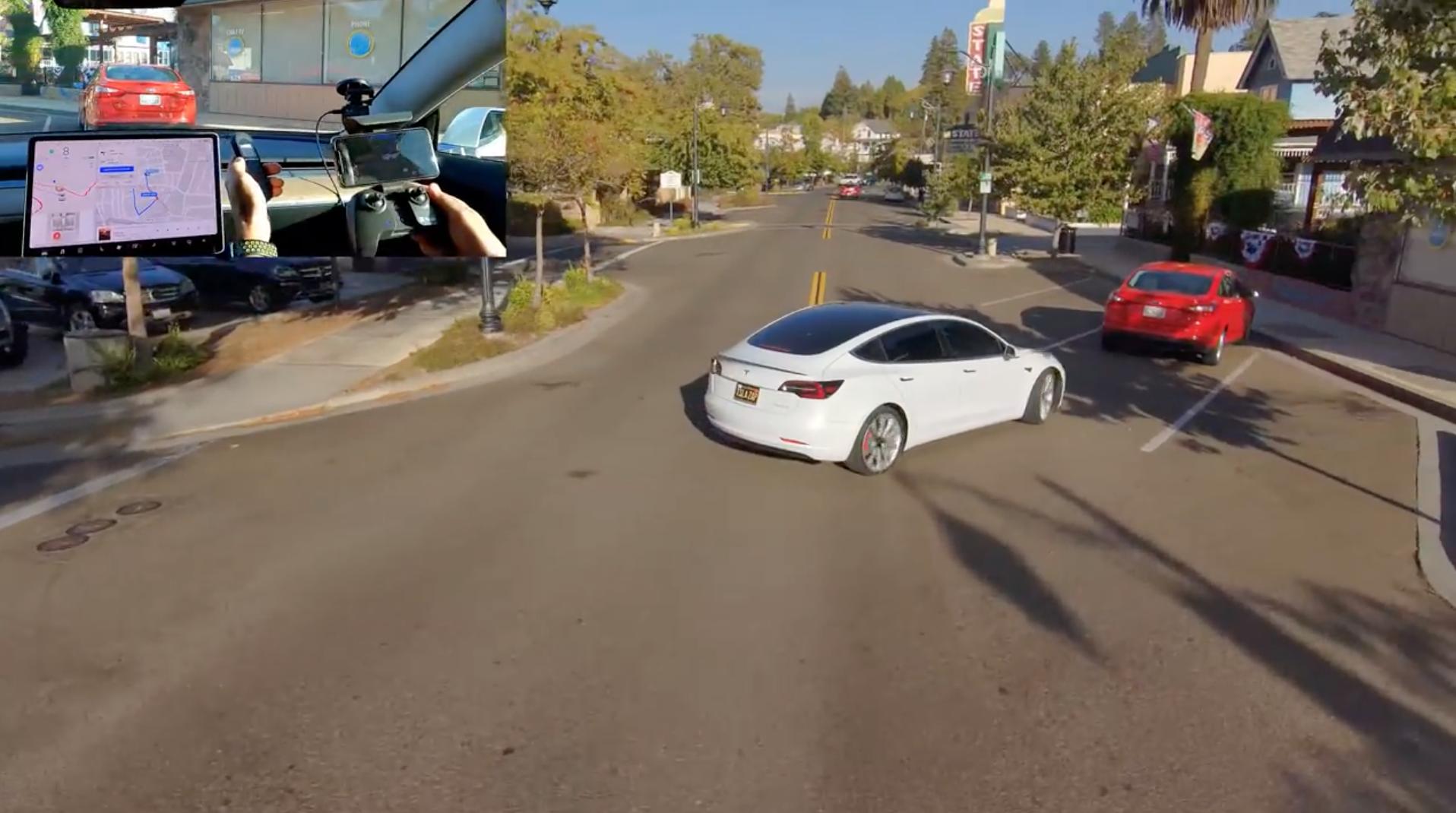 Skydio 2 Tesla