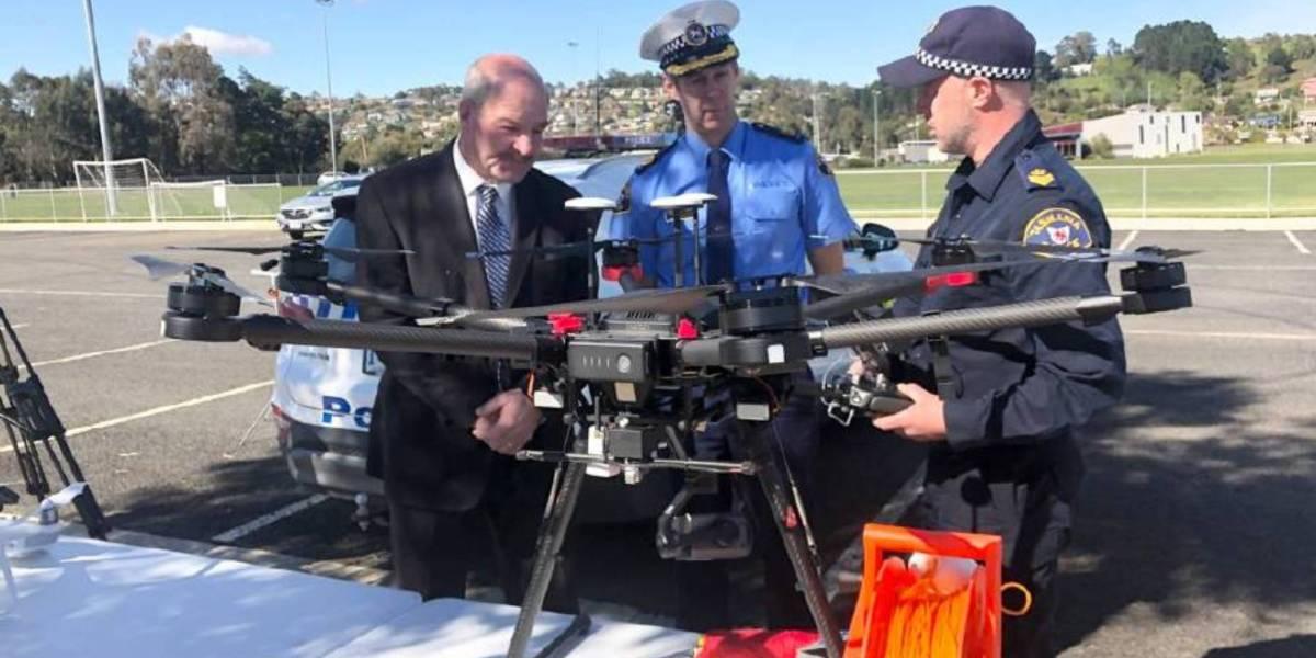 Drones Australia's GDP $14.5 billion Tasmanian government drone crime
