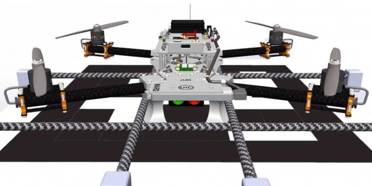 U.S. Army autonomous drone charging