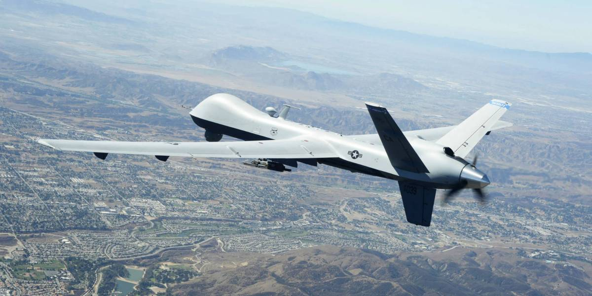 U.S. National Guard's AI drones