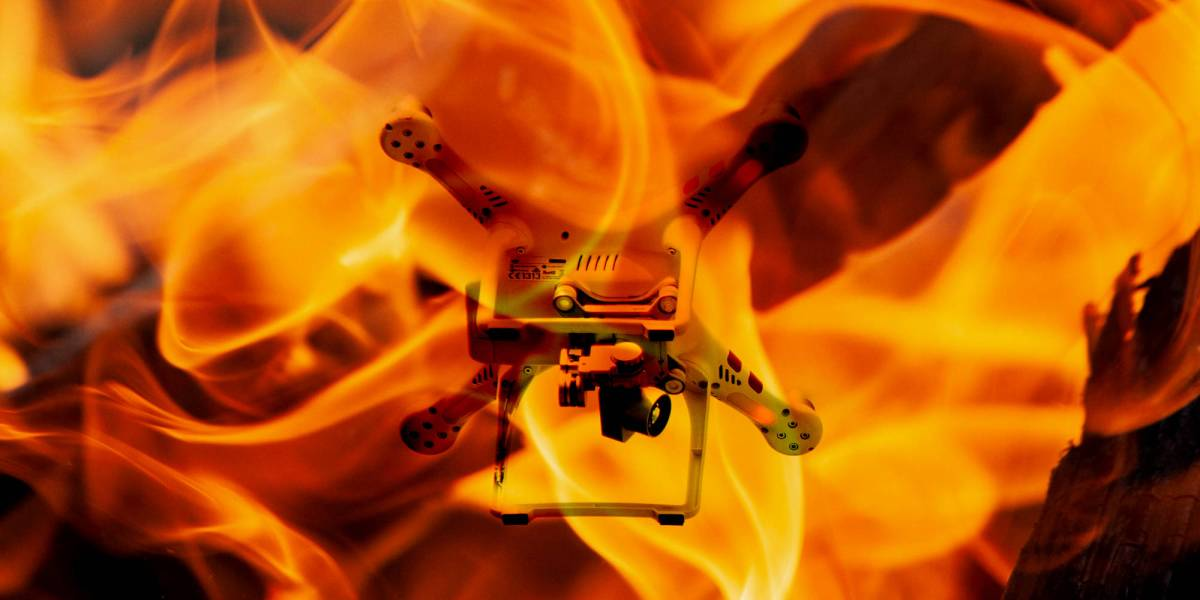 drone incursions firefighting airspace