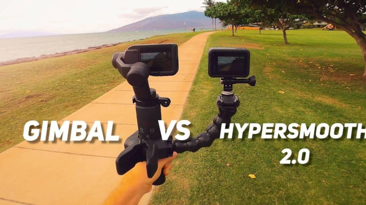 end action camera gimbals