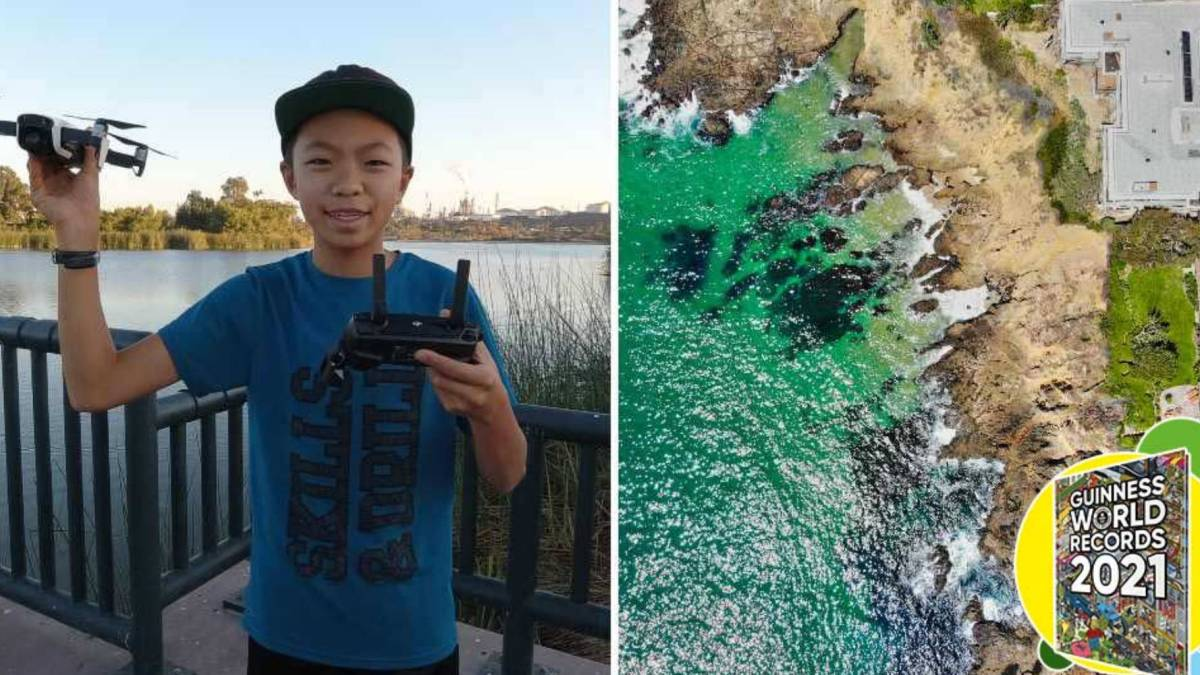 youngest drone cartographer