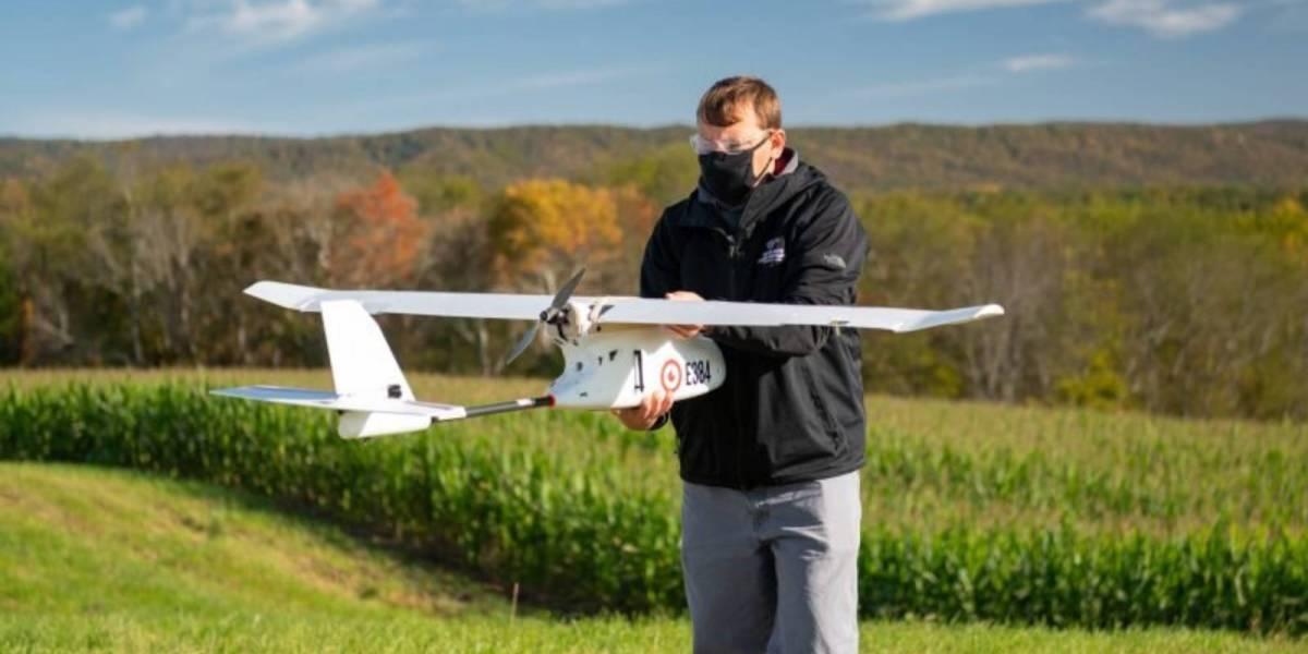 369 drone flights UTM