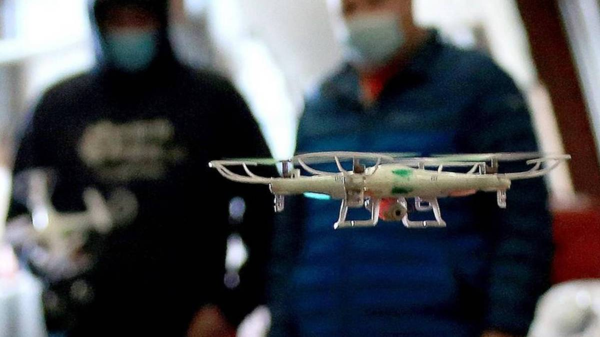Agriculture students drones FAA
