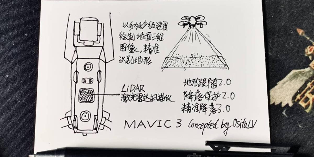 DJI Mavic 3 LiDAR