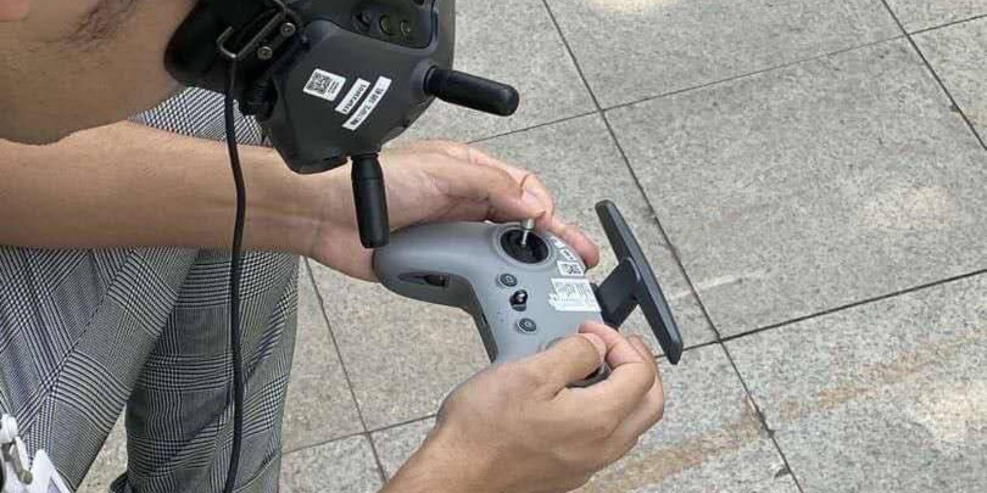 DJI's Digital FPV controller