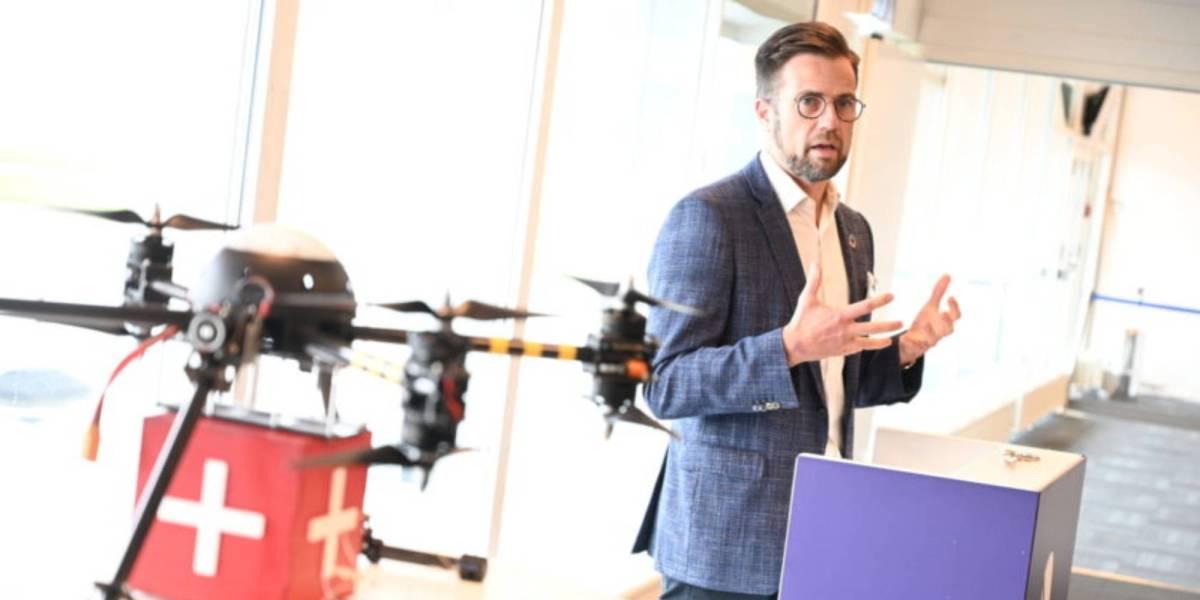 Denmark UTM platform drones