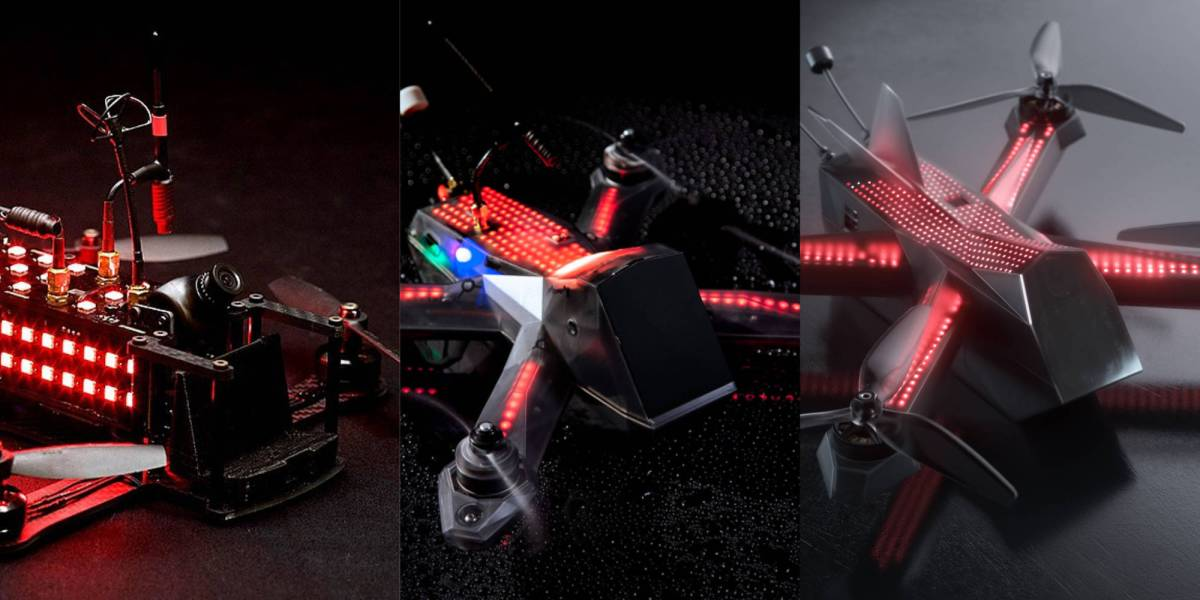 Drone Racing League's racing drones