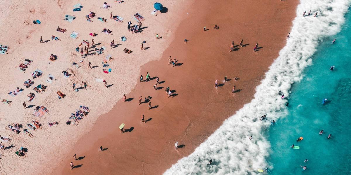 Drones Sydney beaches COVID