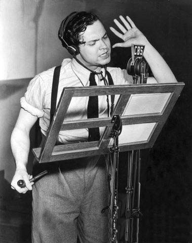 Orson Welles; That is no drone