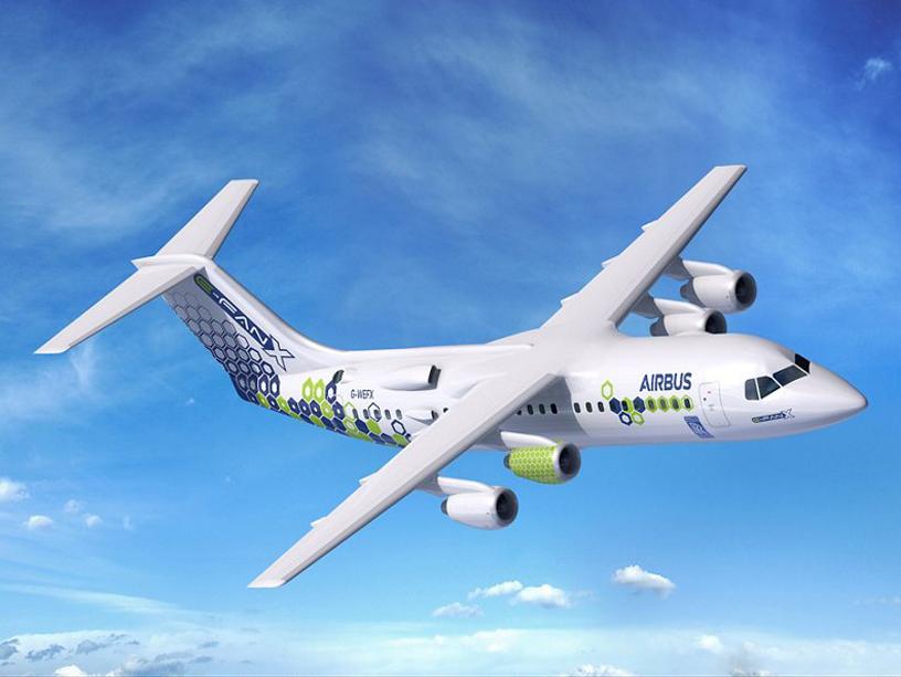 E-Fan X демонстратор, предложенный Airbus электрический гибрид