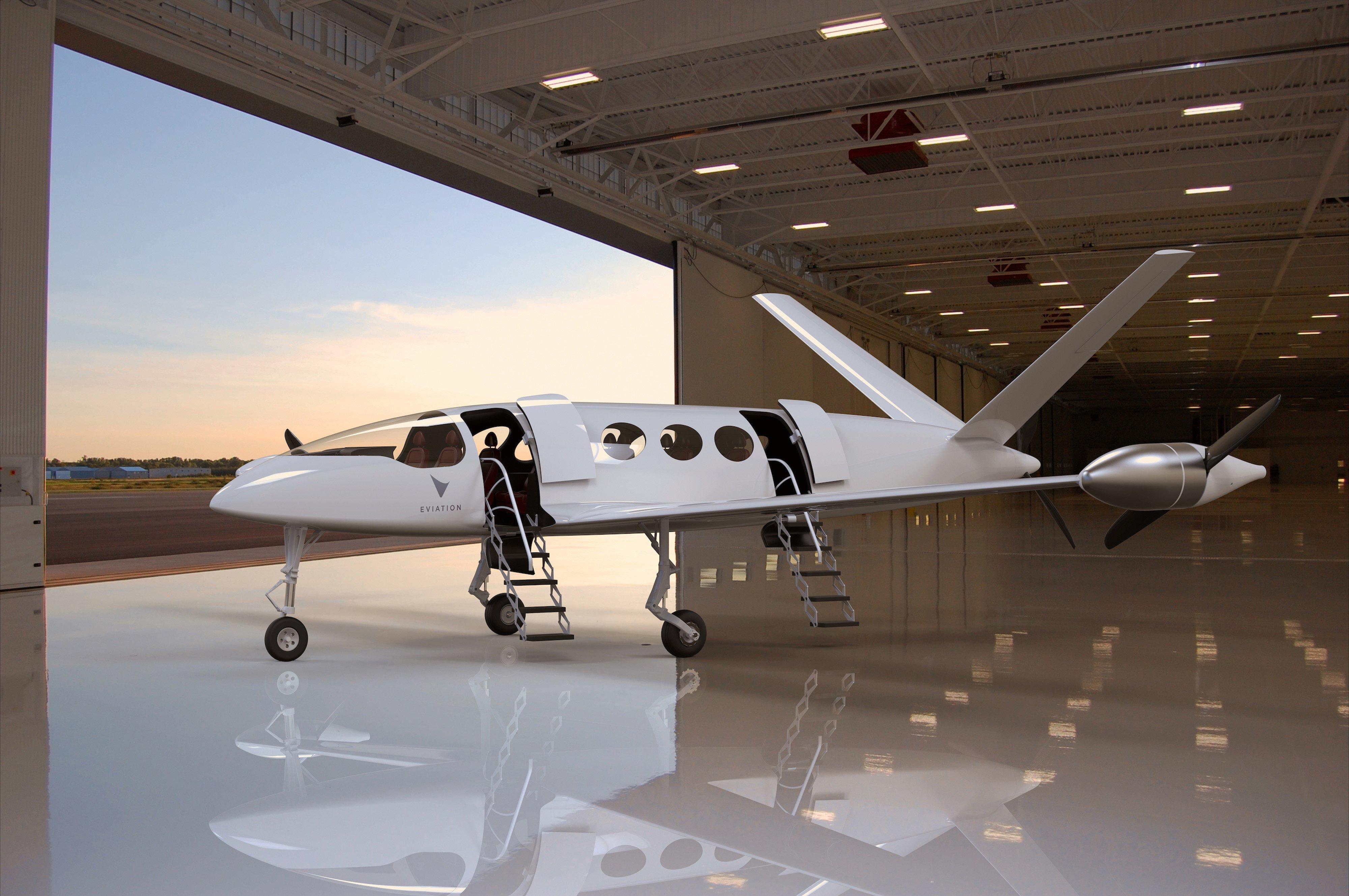 Алиса, полностью электрический прототип пригородного самолета Eviation Aircraft