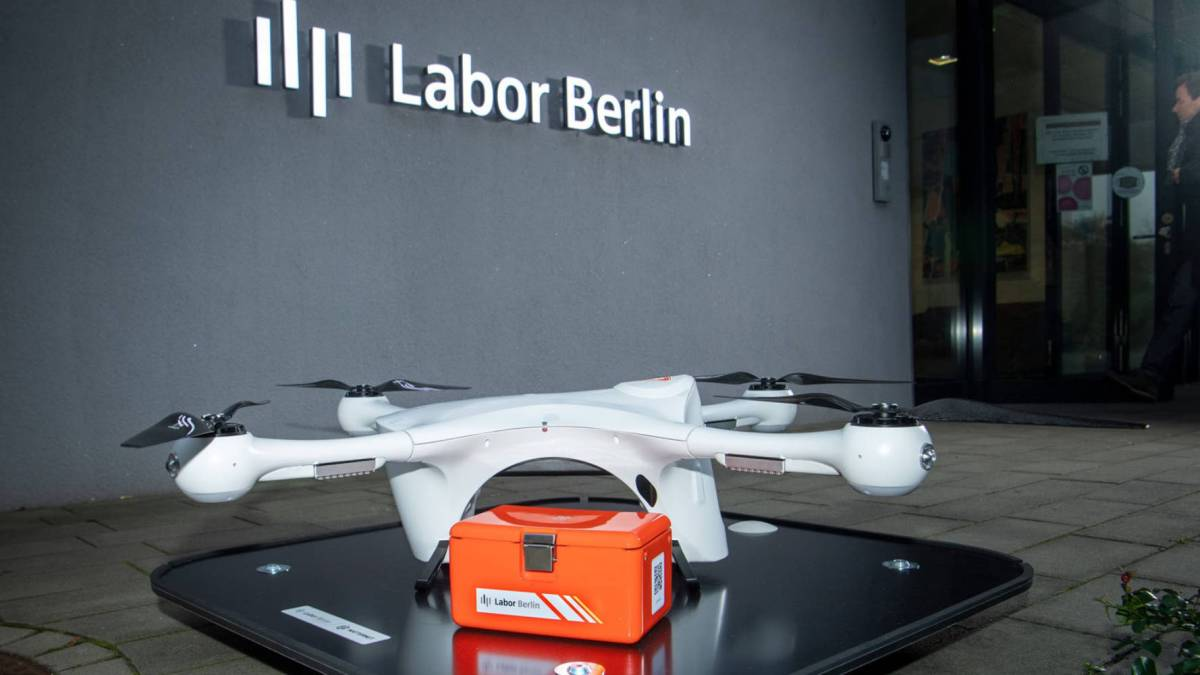 Matternet delivery drones Germany